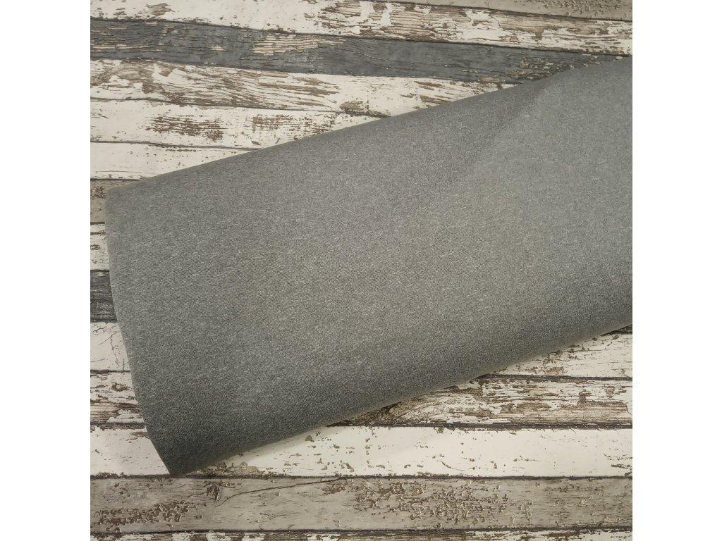 Softshell zimní, světle šedý melír, 342