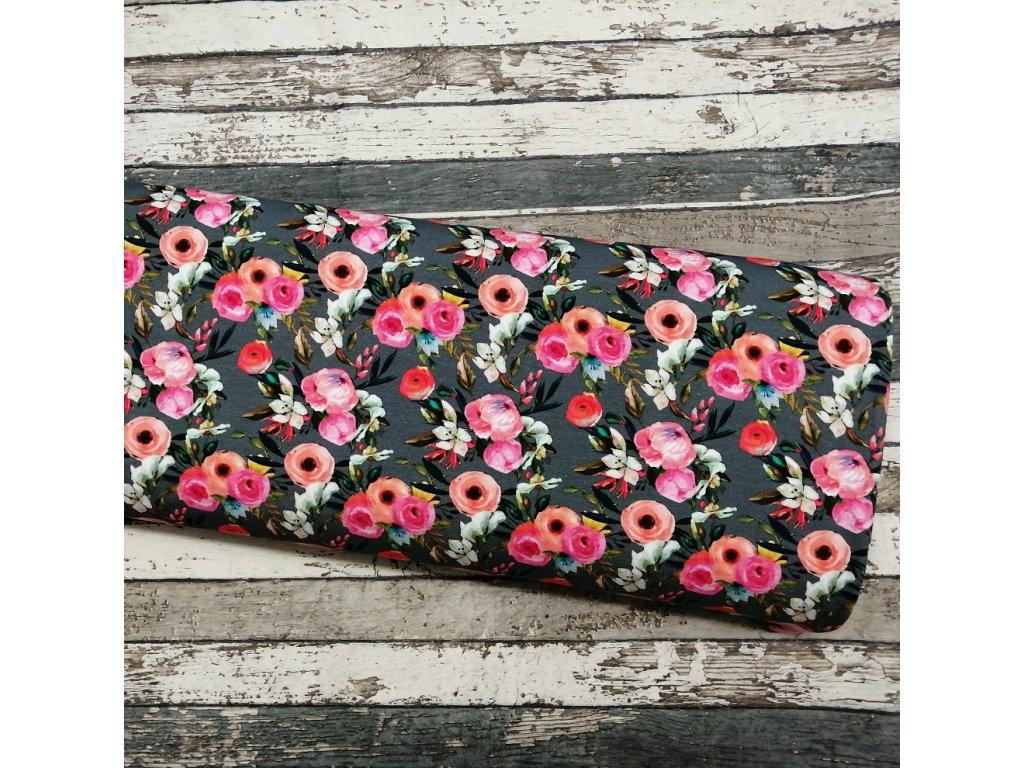 Teplákovina, digi květy