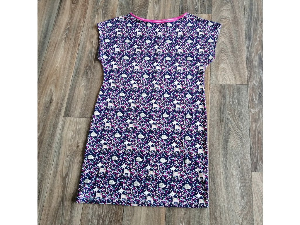 Šaty dámské Yháček, srnka a ježek