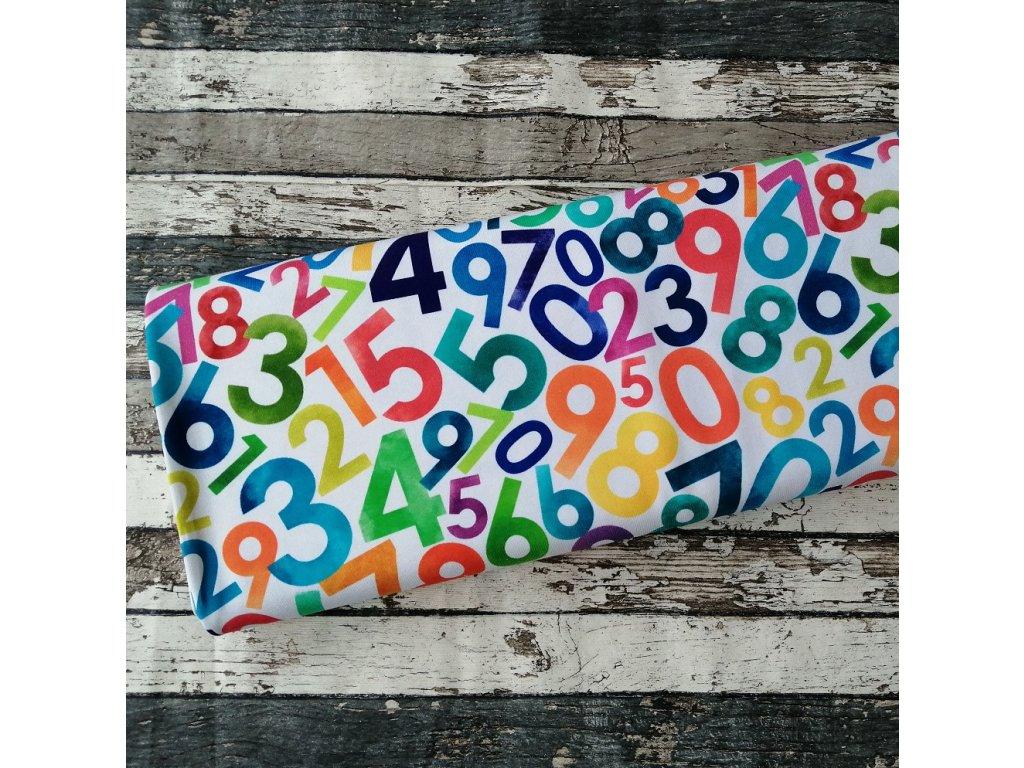 Úplet barevná čísla