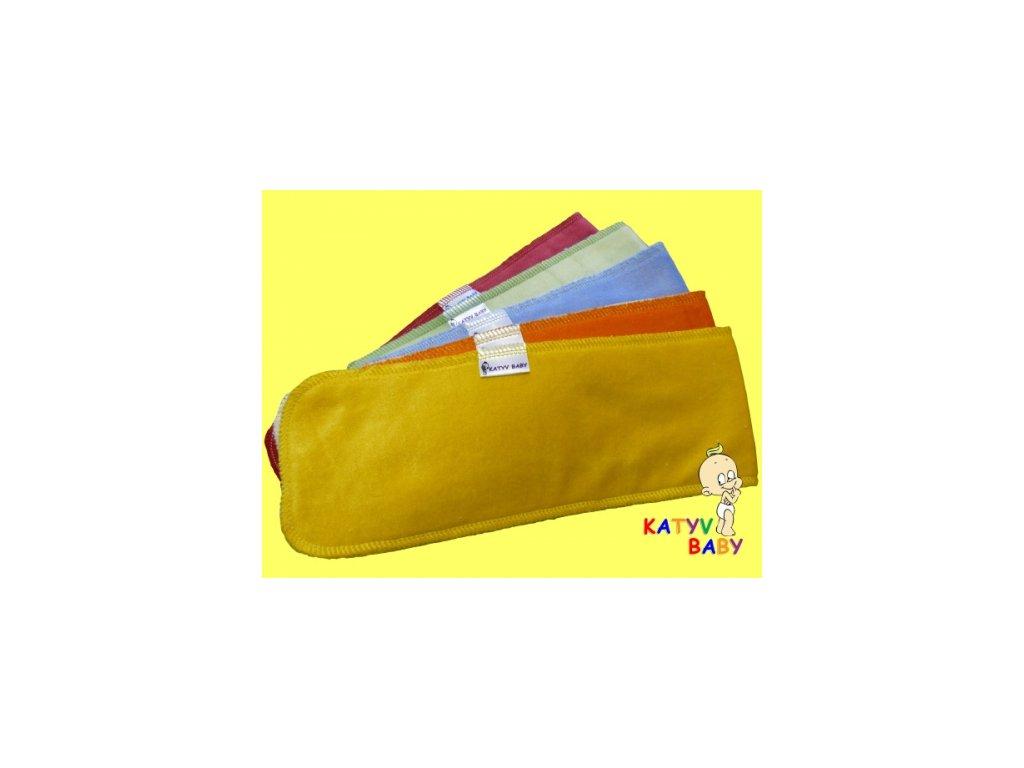 Přídavná vkládací plenka Katyv Baby long, více barev
