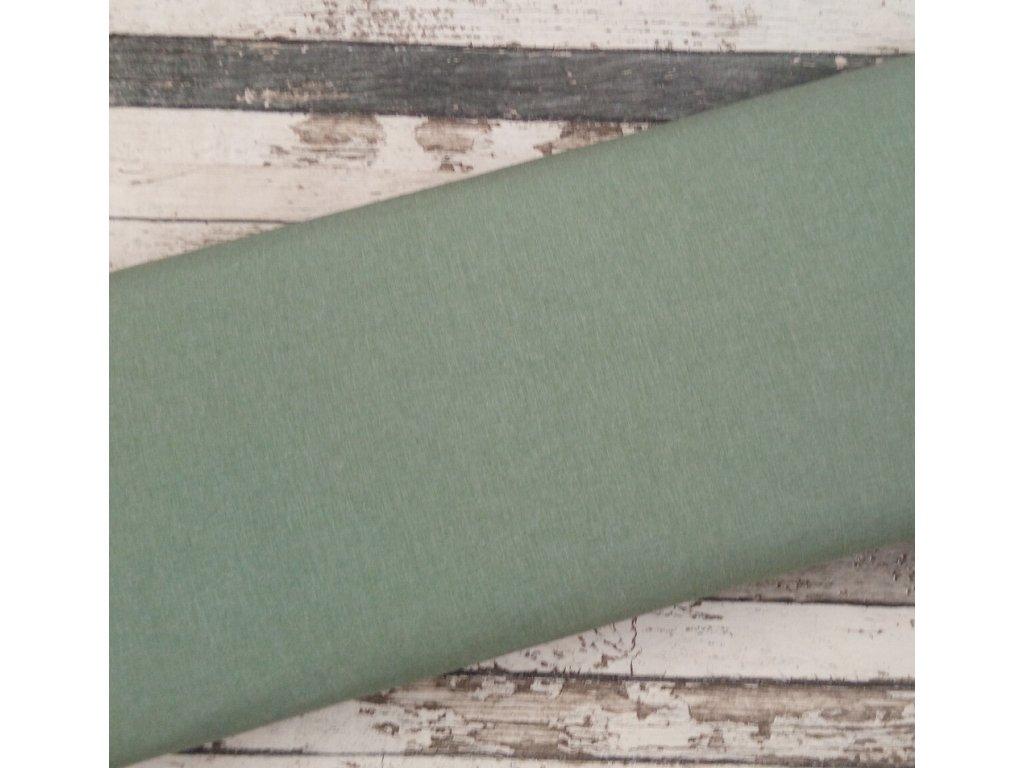 Softshell zimní žíhaný, zelenkavý