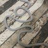 Šňůra kulatá, šedá 12 mm