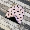 Šmoulí čepička Yháček, oboustranná, Myšák černé hlavy na meruňkové
