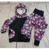 Zimní softshellové kalhotky Yháček, trojúhelníky digi