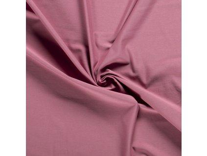Úplet organická bavlna, starorůžová 014