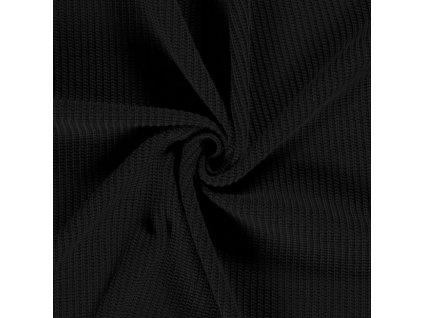 Svetrovina maxi, černá 069