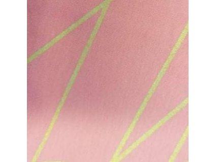 Teplakovina, zlatá síť na korálové - 43 cm