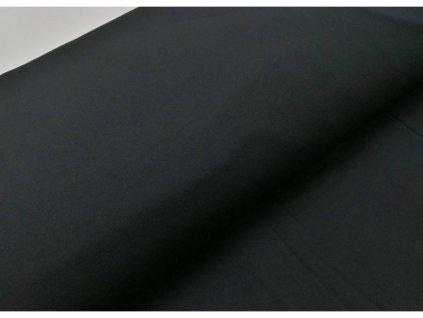 Funkční teplákovina, černá