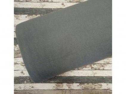 Fleece antipiling, 190 g, středně šedá, 51