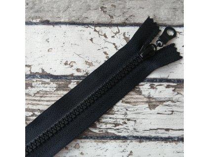 Zip kostěný šíře 5 mm délka 30 cm, kulatý taháček