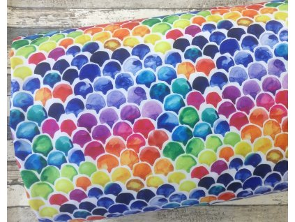 Softshell zimní, barevné šupiny