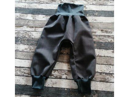 Softshellové kalhoty Yháček, podzim, šedá/antracit