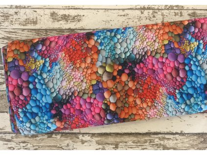 Kočárkovina, barevné bublinky