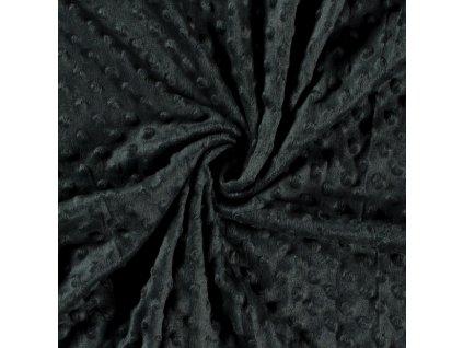 Minky, puntík/temně zelená 028