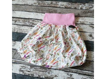 Balónová sukně Yháček, letní louka