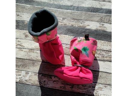 Nosicí botičky - válenky Yháček, lenochodi