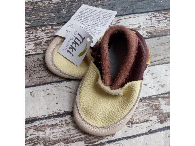 Capáčky Tikki shoes, žluté
