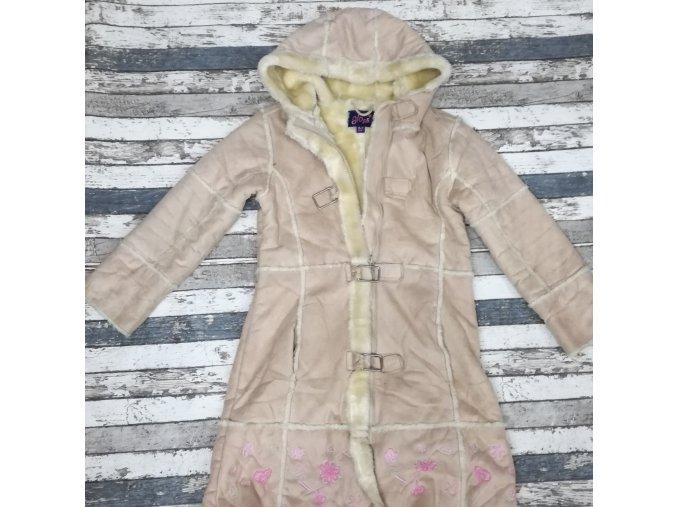Zimní dívčí kabát