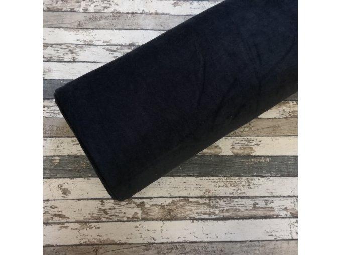 Kojenecký plyš, černá 069
