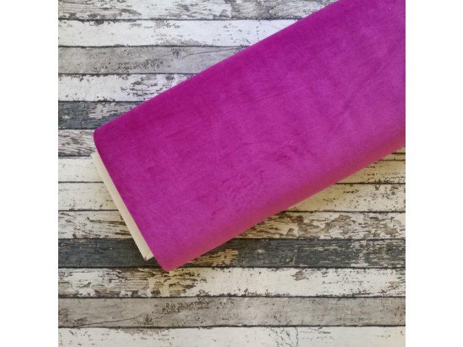 Kojenecký plyš, fialová 017