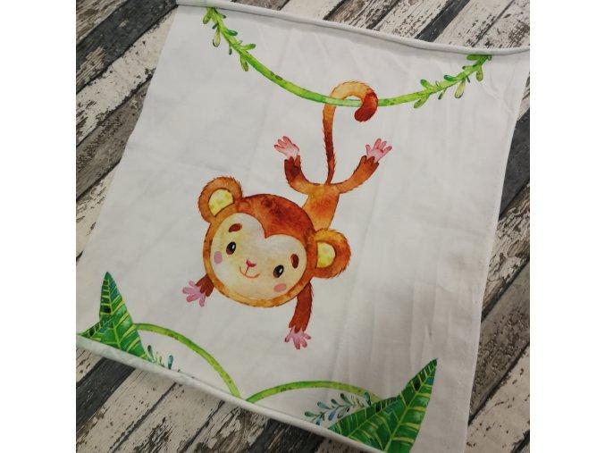 Panel - teplákovina, opičák