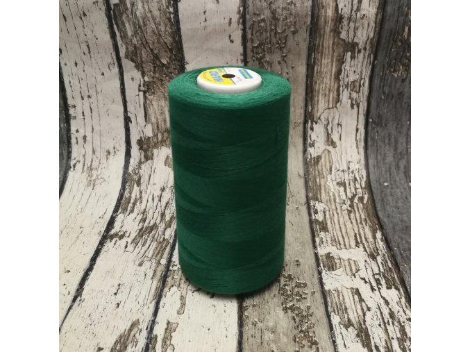 Nitě Hard, 5000 Y, tmavě zelená 185338