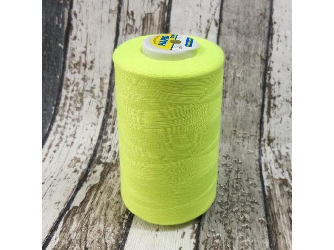 Nitě Hard, 5000 Y, neon žlutý 229