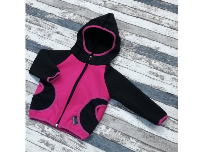 Softshellová bunda Yháček, zimní, růžová