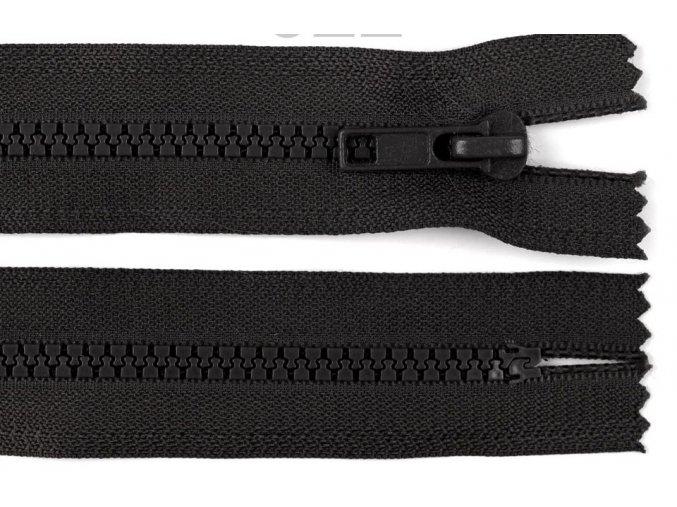 Zip kostěný šíře 5 mm délka 55 cm