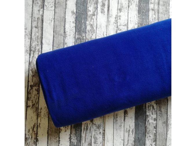 Fleece antipilling, královsky modrá