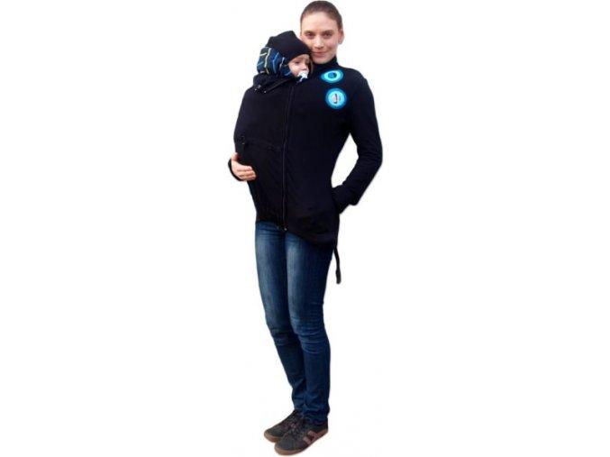 marta mikina pro nosici a tehotne zeny aplikace tyrkysova kolecka