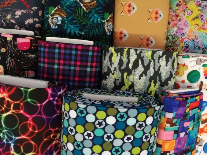 Zimní softshellové kalhotky Yháček, zimní, vzor, ZAKÁZKOVÁ VÝROBA