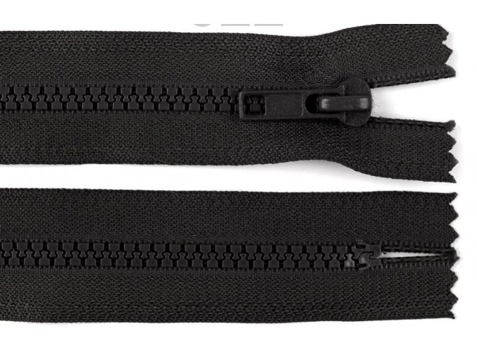 Zip kostěný šíře 5 mm délka 70 cm