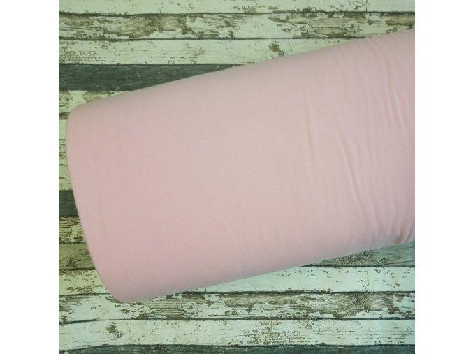 Fleece antipiling, 190 g, světle růžový, 90