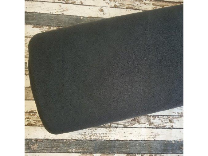 Fleece antipiling, 190 g, antracit, 138