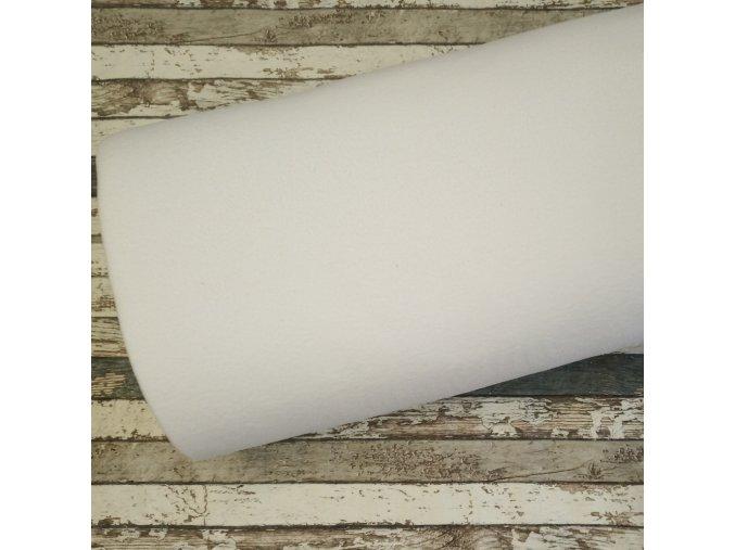 Fleece antipiling, 300 g, bílý, 2