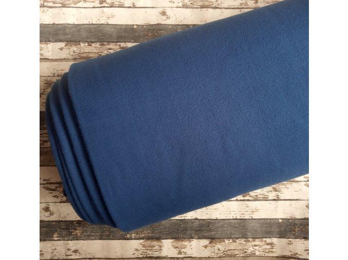 Fleece antipiling, 240 g, modrá, 423