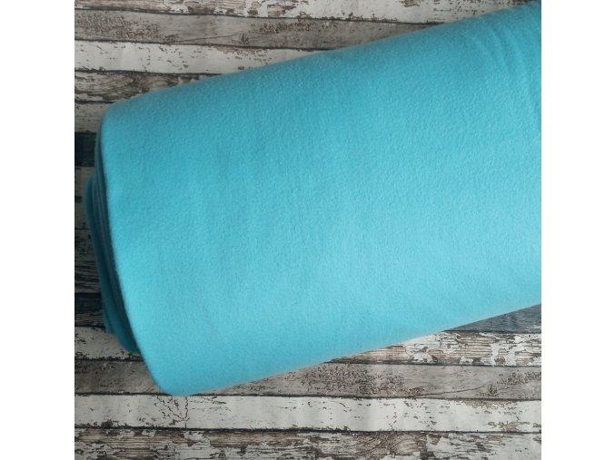 Fleece antipiling, 240 g, světlý tyrkys, 512