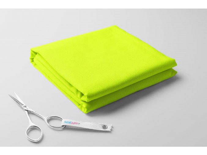 Teplákovina, žlutý neon