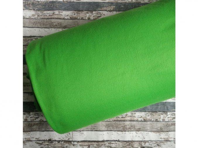 Fleece antipiling, 190 g, zelený, 848