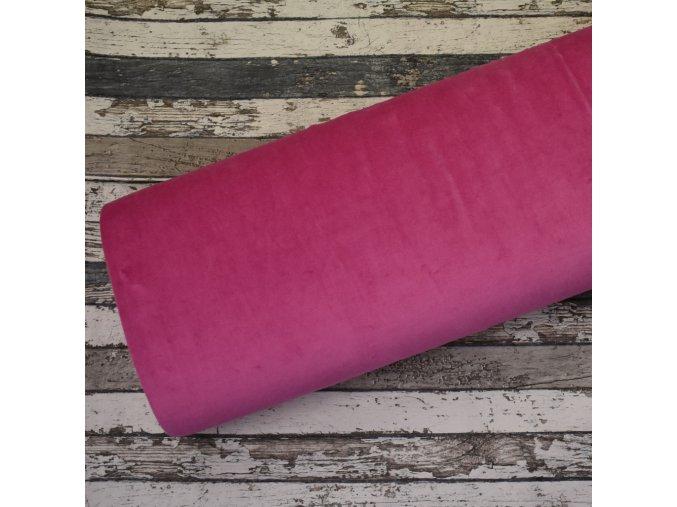 Kojenecký plyš, růžový 014