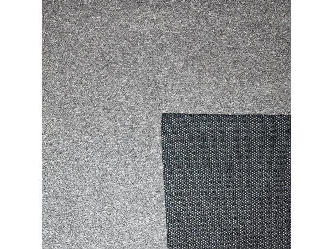 letní soft melír šedý
