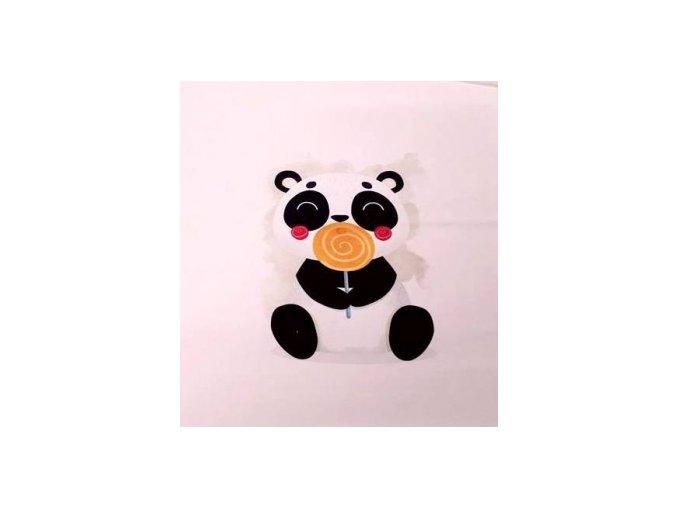 panda s lizatkem