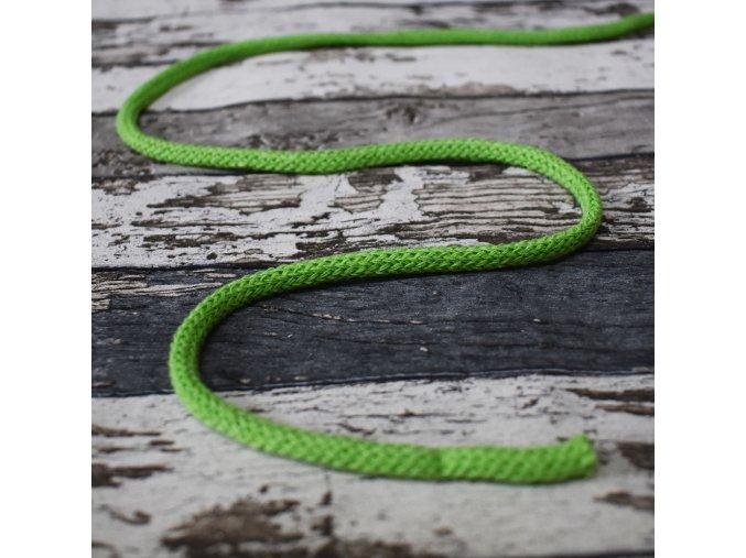 Šňůra kulatá, zelená