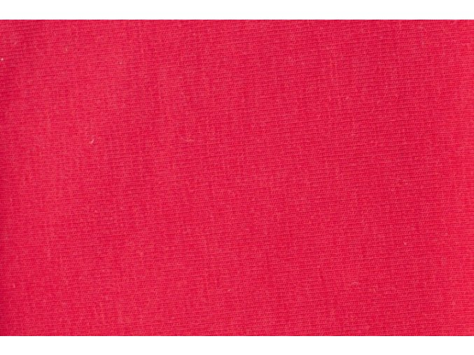 Úplet organická bavlna, červená 015