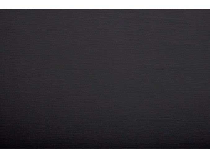 Dvojitá gázovina, černá 069