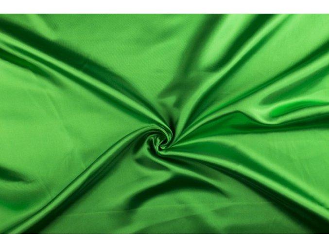 Satén, zelený 025