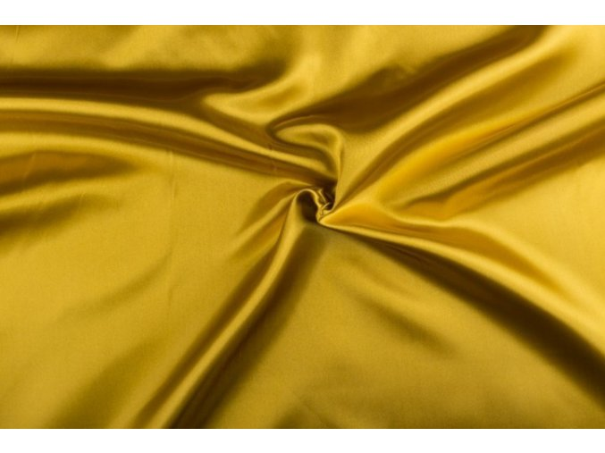 Satén, zlatý 180