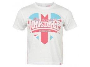 Tričko Lonsdale bílé, nové